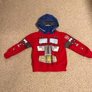 Optimus Prime zip up hoodie